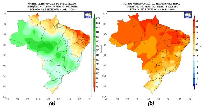 PROGNÓSTICO CLIMÁTICO DA PRIMAVERA