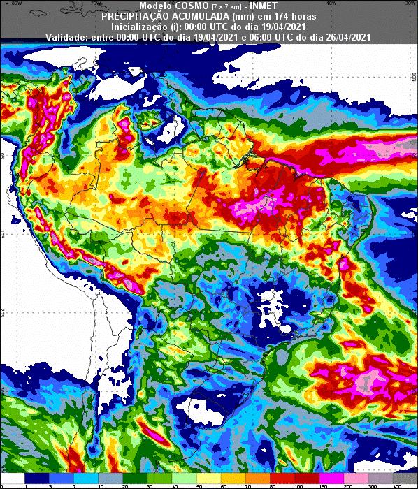Informativo Meteorológico Semanal N° 15 (19/04/2021)