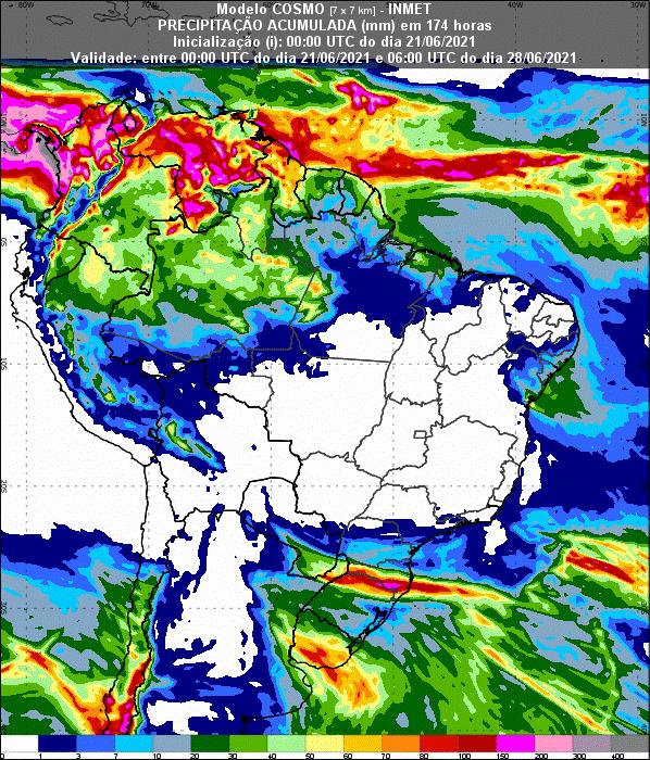 Informativo Meteorológico Semanal N° 24 (21/06/2021)