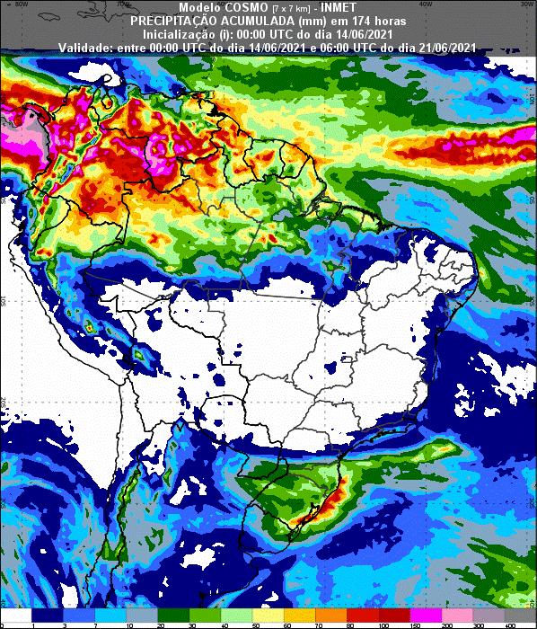 Informativo Meteorológico Semanal N° 23 (14/06/2021)