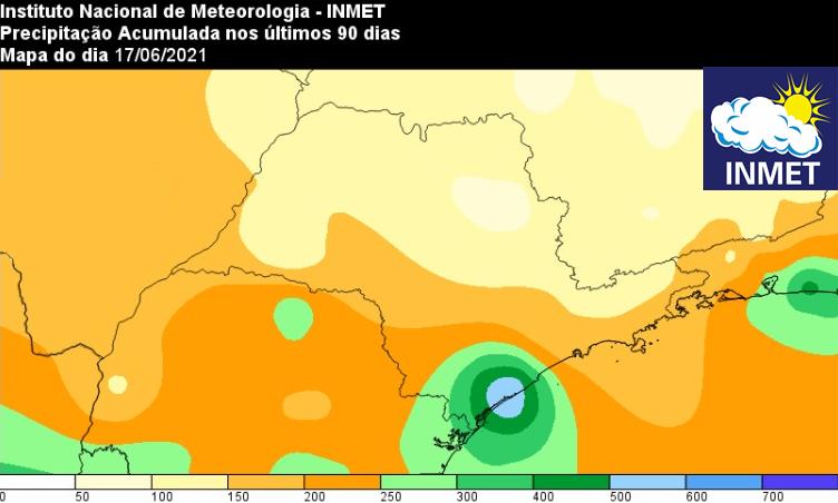Boletim Climatológico de São Paulo: Balanço do Outono e Prognóstico para o Inverno 2021