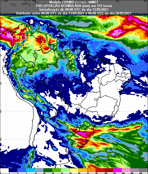 Informativo Meteorológico Semanal N° 36 (13/09/2021)