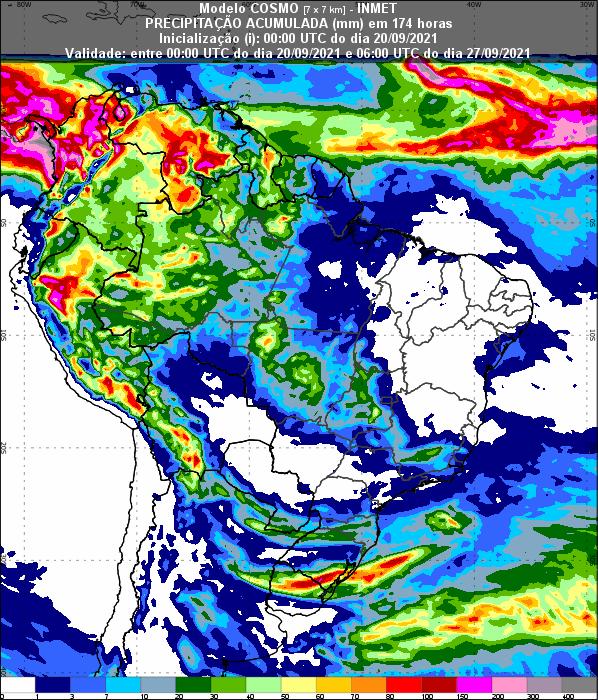 Informativo Meteorológico Semanal N° 37 (20/09/2021)